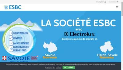 Site internet de ESBC