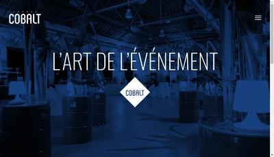 Site internet de Cobalt