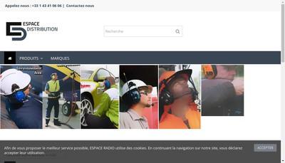 Site internet de Espace Radio - Isytec