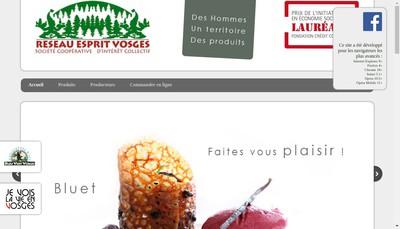 Site internet de Reseau Esprit Vosges