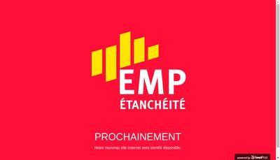 Site internet de SAS Etancheite Midi-Pyrenees