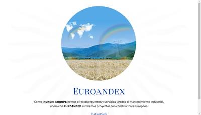 Site internet de Euroandex