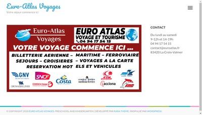 Site internet de Euro Atlas