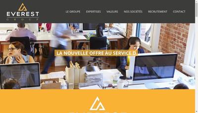 Site internet de Everest Group