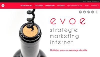 Site internet de Evoe