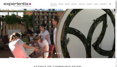 Site internet de Experientia