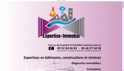 Site internet de Immobat