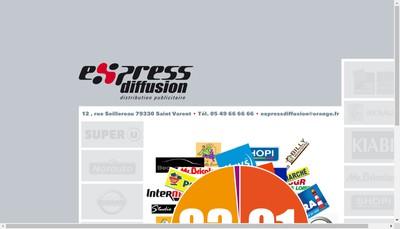 Site internet de Express Communication
