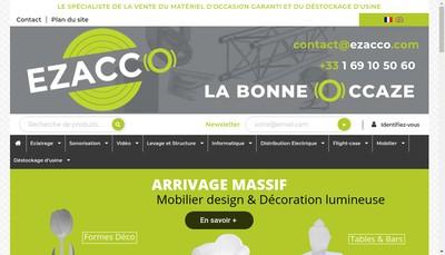 Site internet de Visavis Paris