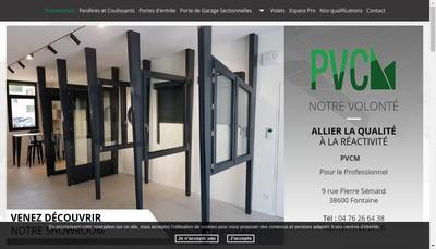 Site internet de PVCM
