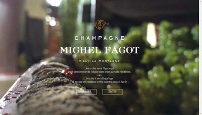 Site internet de SAS Champagne Michel Fagot
