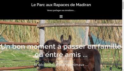 Site internet de Fauconnerie Marche