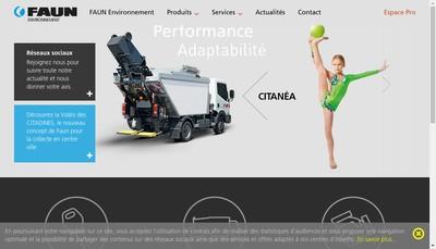 Site internet de Faun Environnement