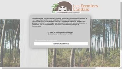 Site internet de Les Fermiers Landais
