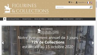 Site internet de Figurines et Collections