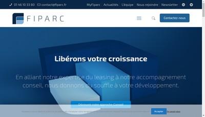 Site internet de Fiparc