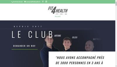 Site internet de Fit4Health