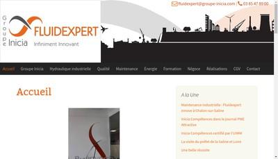 Site internet de Fluidexpert