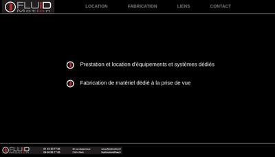 Site internet de Fluid Motion