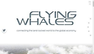 Site internet de Flying Whales