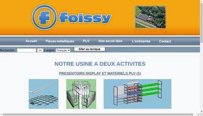 Site internet de Foissy