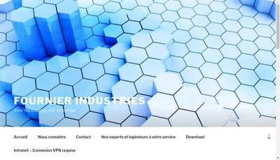 Site internet de Fournier Industries