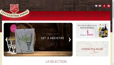 Site internet de Distillerie Pontissalienne