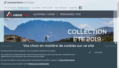 Site internet de Groupe Eurosports Diffusion