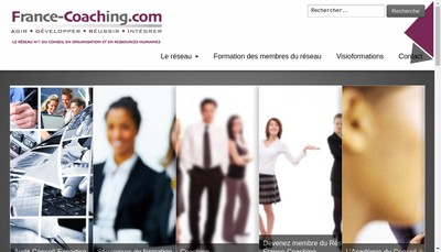 Site internet de France-Coaching Com