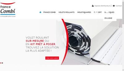 Site internet de France Combi Tages Stordif