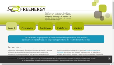 Site internet de Freenergy