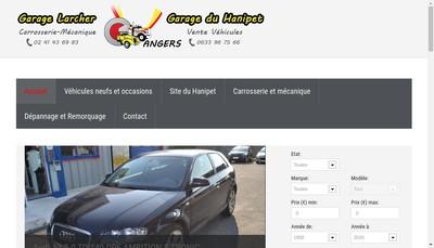 Site internet de Larcher
