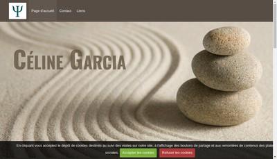 Site internet de Celine Garcia