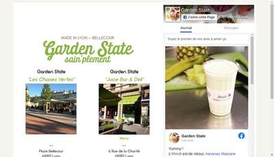 Site internet de Garden State