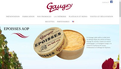 Site internet de Fromagerie Gaugry