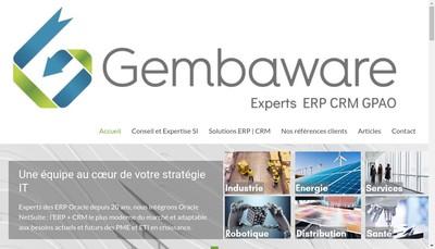 Site internet de Gembaware