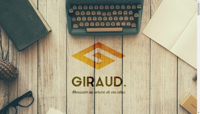 Site internet de Menuiserie Giraud