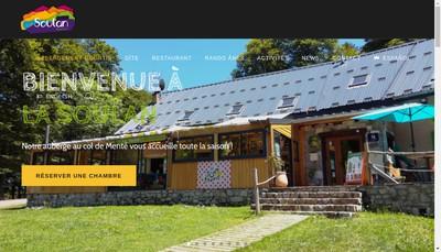 Site internet de La Soulan