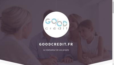 Site internet de Good Credit