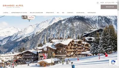 Site internet de Les Grandes Alpes