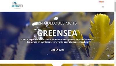 Site internet de Greensea