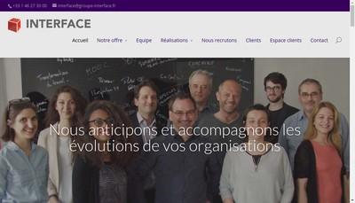 Site internet de Interface Conseil Etudes et Formation