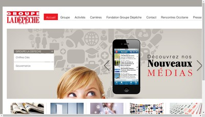 Site internet de La Depeche du Midi
