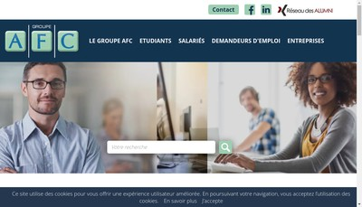 Site internet de AFC