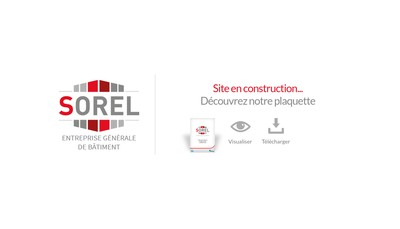 Site internet de Sorel