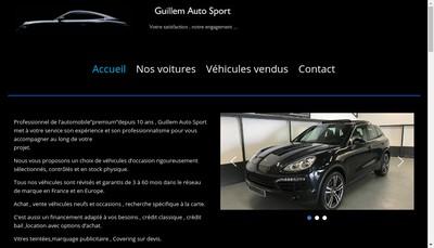 Site internet de Guillem Auto Sport