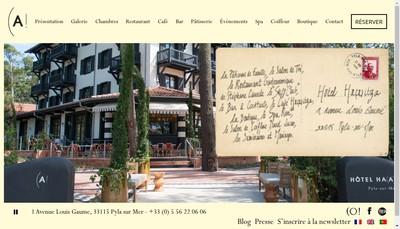 Site internet de SAS Haitza