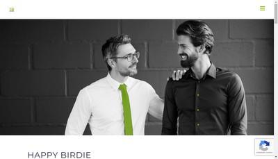 Site internet de Happy Birdie