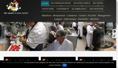 Site internet de H & C Conseil