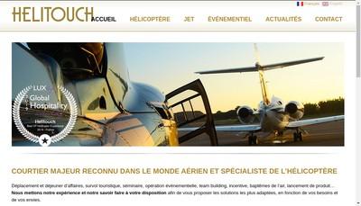 Site internet de Helitouch